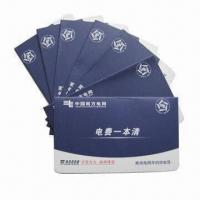 Buy cheap Bank passbooks, measures 12 x 8cm, magnetic stripes are available from wholesalers