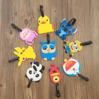 Buy cheap Cartoon Character 3D PVC Luggage Tag With Custom Company Or Team Logo from wholesalers