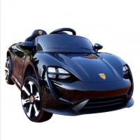 Buy cheap Rechargeable Black color Kids Toy car 6V4ah*2 Electric Ride On Car from wholesalers
