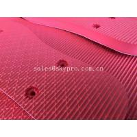Buy cheap Red Humanized Design Rubber EVA Foam Sheet for Slipper Inner Sole Outsole Shoes Material from wholesalers