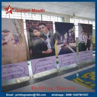 Buy cheap 80X180 cm Aluminum X Stand Banner Printing from wholesalers