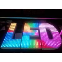 Buy cheap Outdoor LED Channel Letter Advertising LED Signs for Company , 1 Meter High from wholesalers