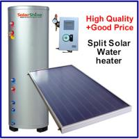 Wholesale Safety Split Solar Water Heater , Roof Mounted Solar Water Heater 3 Years Warranty from china suppliers