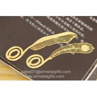 Buy cheap Personalized Photo Etching Process Metal Bookmarks in Bulk, MOQ100pcs from wholesalers