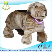 Hansel stuffed animals with wheel electric motorized toy bike animal rides Manufactures
