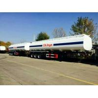 Buy cheap Fuel tanker trailer 45000 liters tanker trailer for sale Oil tank trailer 3 axles from wholesalers