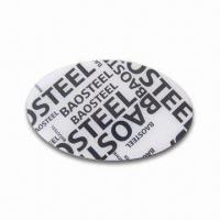 Buy cheap Photo Fridge Magnet with Logo, Measures 53 x 80mm, Made of Stainless Steel from wholesalers