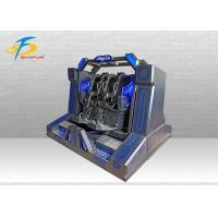Buy cheap Two Seats Super Pendulum VR Cinema Machine With 10 PCS Games 220V / 110V product