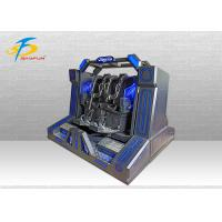 Wholesale Two Seats Super Pendulum VR Cinema Machine With 10 PCS Games 220V / 110V from china suppliers
