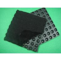 Buy cheap HDPE Dimpled Drainage Board , Composite Geotextiles And Geomembranes  Thickness 0.5mm from wholesalers