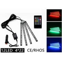Buy cheap Rhythm Remote Control LED Strip Lights Multicolor 12 LED CE ROHS Approved from wholesalers