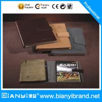 Buy cheap PU metal rings loose leaf notebook with card holder from wholesalers