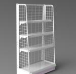 Buy cheap Durable Floor Wire Supermarket Display Rack from wholesalers