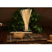 Buy cheap Good Hardness Decorative Fruit Skewers , Thin Bamboo Sticks For Food from wholesalers