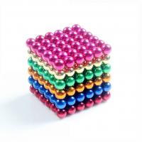 Buy cheap Kellin Neodymium Magnetic Balls Colorful 5mm Magnetic Balls 216 pcs Neocube for Imagination from wholesalers