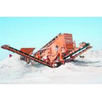 Buy cheap High quality and low cost mobile crusher for silica sand from wholesalers