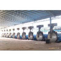 Glass / Brick Industrial Concrete Autoclave Φ2.68M / AAC Block Equipment