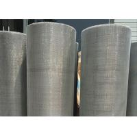 Buy cheap Salty Resistance 100 Mesh Screen Filter , Hastelloy Wire Mesh With Chemical Stability product