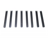 Buy cheap 12mm Roll Pin ISO9001 Phosphate Cylinder Slotted Spring Pin from wholesalers