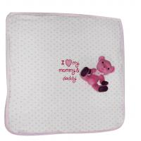 Buy cheap Custom Winter Girl Newborn Baby Blanket Single Soft Baby Blankets Comfortable from wholesalers