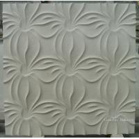 Wholesale Natural Limestone 3D textured wall cladding tile from china suppliers