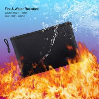 Buy cheap Casual Portable Fireproof Bag Ultra Safe With Zipper OEM ODM Support from wholesalers