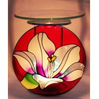 Buy cheap Unique colored glass candle holder Precious Moments Ornaments for home decoration from wholesalers