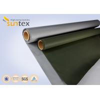 Buy cheap Fiber Glass Insulation Welding Blanket Roll Silicone Rubber Coated Fiberglass Fabric from wholesalers