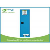 Buy cheap Safety Industrial Blue Flammable Storage Cabinet For Hospital Laboratory 22 Gal from wholesalers