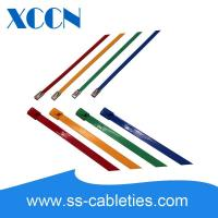 Buy cheap High Temp Heavy Duty Cable Ties , Braided Stainless Steel Cable Ties from wholesalers