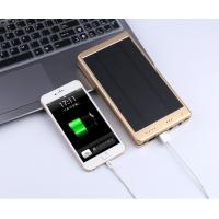 Wholesale 30000mAh Portable Waterproof Solar Charger Dual Usb External Battery Power Bank from china suppliers