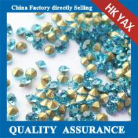 Home decoration glass gems,China A grade quality gems glass,large glass gems wholesale factory price Manufactures