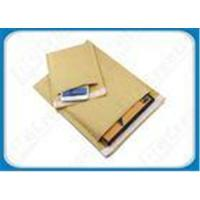 Buy cheap Gold / White / Natural Eco-friendly Kraft Bubble Envelopes Padded Mailing Bags For Express from wholesalers