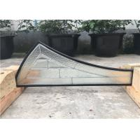 Buy cheap 22*48 Pattern Decorative Panel Glass Clear / Coated / Stained Technique from wholesalers