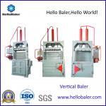 Buy cheap Hello Baler Waste Paper ,cardboard Baling Machine, Vertical Baler from wholesalers