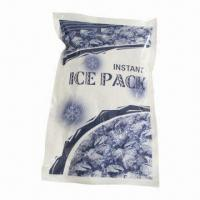 Wholesale Instant Ice Pack, Made of PVC Nylon, Measures 22.8 x 15.3cm, Weighs 280g from china suppliers