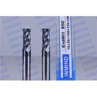 Buy cheap Solid Carbide High Speed Milling Cutters For Tempered Steel / Stainless Steel from wholesalers