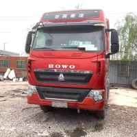 Buy cheap 2016 Year HOWO T7H 460HP 540HP Used Tractor Truck For Africa Sinotruk from wholesalers