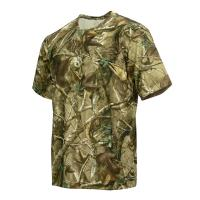 Buy cheap 100% Polymicro Knit Grid Hunting Camo Shirts, Hunting Camo Clothing With Wicking Function from wholesalers