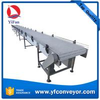Wholesale Plastic Modular Mesh Belt Conveyor in stainless steel frame from china suppliers