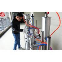 China Semi Automatic 3 in 1 Aerosol Filling Machine for Insecticide Pesticide Sprays Pneumatic Drive on sale