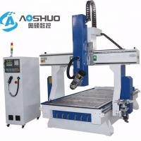 Buy cheap Professional 4 Axis Woodworking CNC Machine , Rotary Cnc Router Wood Carving Machine from wholesalers