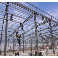 Wholesale Poultry Construction Steel Hangar Building , Long Life Span Metal Airplane Hangar from china suppliers