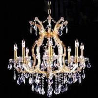 Buy cheap Crystal Chandelier with 9 Lights, Measures 660 x 660mm product