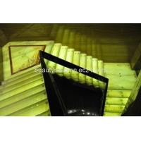 Buy cheap Light Onyx Stairs,Bright Green and Yellow Color product