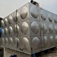 Buy cheap Welding Sectional Water Storage Tanks , Anti Rust Large Rectangular Water Containers from wholesalers
