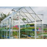 Buy cheap White Clear One Stop Gardens Greenhouse , 10mm Polycarbonate Sheet Greenhouse from wholesalers