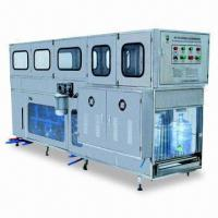 Buy cheap Auto Water Bottling Machine for 5 or 3 Gallons Bottles, Measuring 3,550 x 960 x from wholesalers