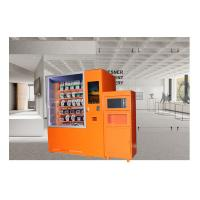 Buy cheap Mini Mart Ready Eat Pizza Hot Food Vending Machine Remote Control Management System from wholesalers