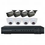 Buy cheap Waterproof IR Bullet Camera HD Megapixels 720P AHD DVR Kit Home Security Camera System from wholesalers
